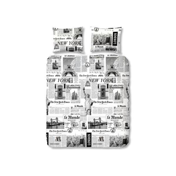 Pościel Newspaper, 140x220 cm