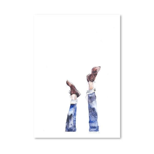 Plakat Upside Down, 30x42 cm