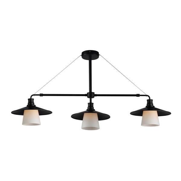 Lampa Candellux Lighting Foft Three, czarna
