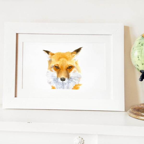 Plakat Papa Fox A4
