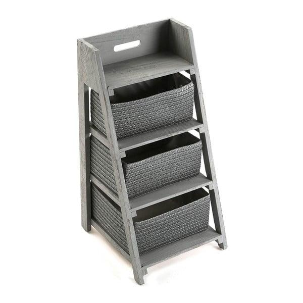 Szafka z trzema koszykami Cabinet Grey