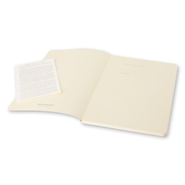 Zestaw 2 notesów Moleskine Volant 21x13 cm, różowy + strony w linię