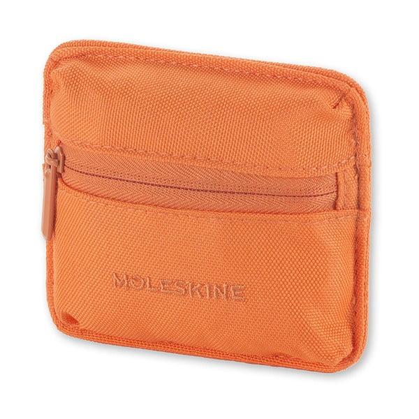 Uniwersalna saszetka kieszonkowa na rzep Moleskine 10x9 cm, pomarańczowa