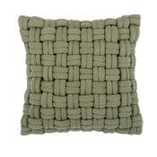 Zielona poduszka ZicZac Clusp, 45x45 cm