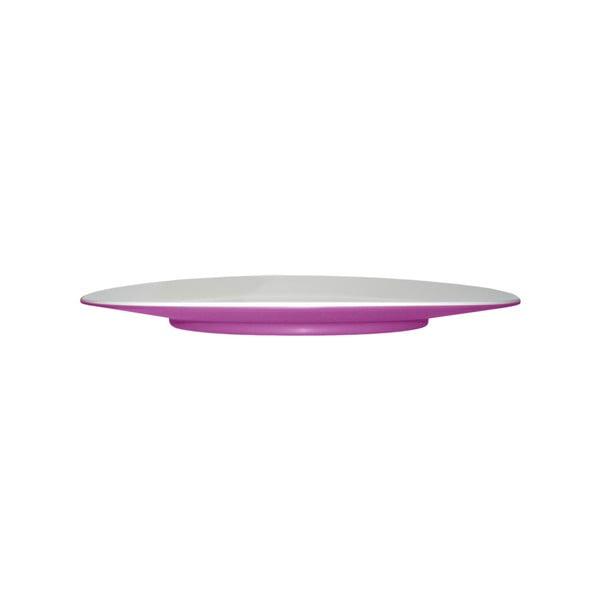 Talerz deserowy Entity Violet, 21 cm