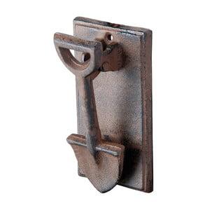 Żeliwna kołatka do drzwi w kształcie łopaty EsschertDesign