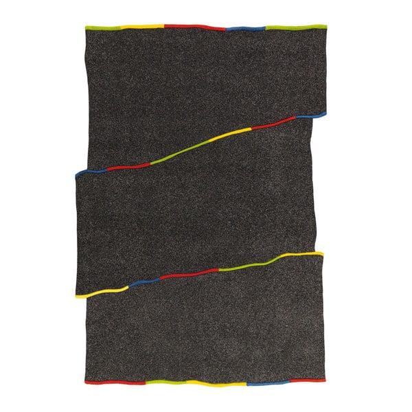 Ręcznie tkany dywan Spirit Frisee Dark, 140x200 cm