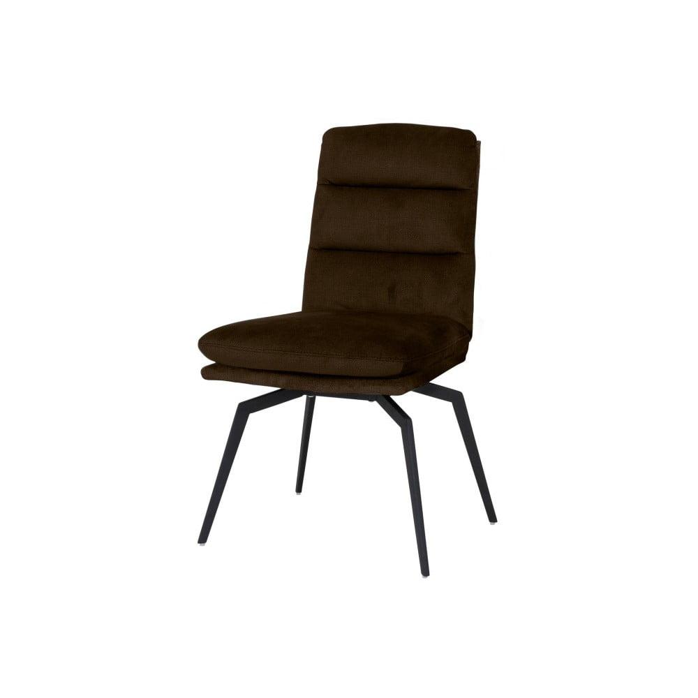 Jasnobrązowe krzesło Canett Uri