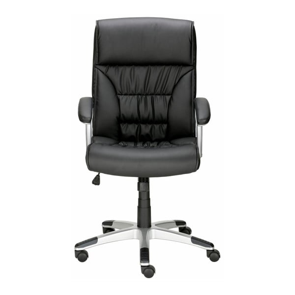 Czarny fotel biurowy Støraa Tampa