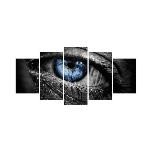 Wieloczęściowy obraz Black&White no. 77, 100x50 cm