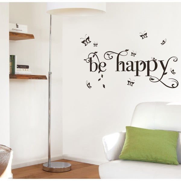 Naklejka dekoracyjna Eurographics Be Happy