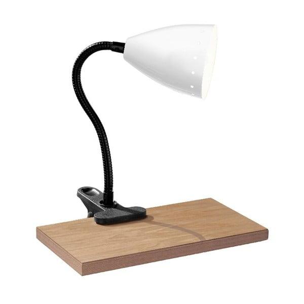 Lampa stołowa Flexi White