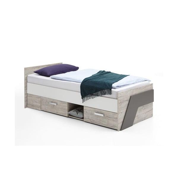 Łóżko jednoosobowe Nona, 90x200 cm