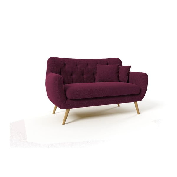 Dwuosobowa sofa Renne, fioletowa