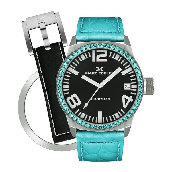 Zegarek damski Marc Coblen z dodatkowym paskiem i obręczą P104