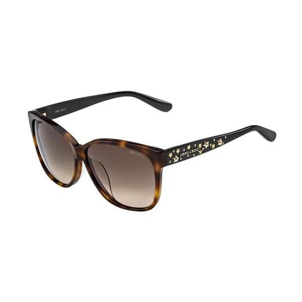 Okulary przeciwsłoneczne Jimmy Choo Chanty Leopard/Brown