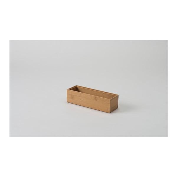Pojemnik bambusowy Compactor, 22,5x7x6,35cm