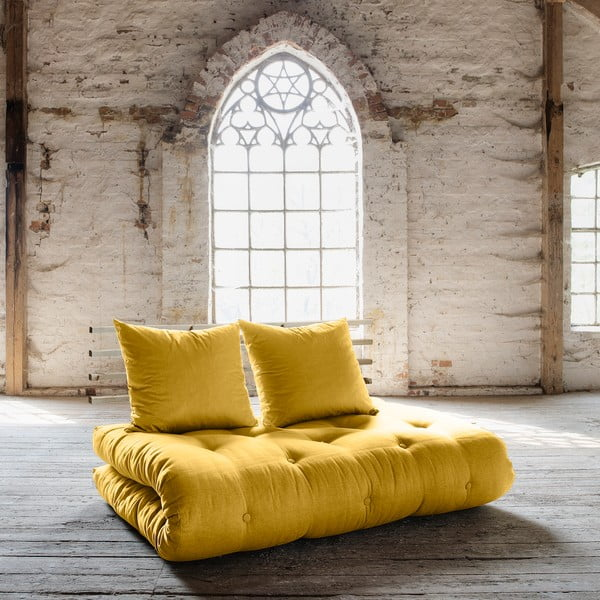 Sofa rozkładana Karup Shin Sano Natur/Amarillo