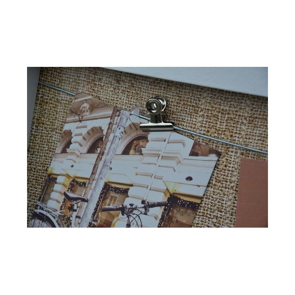 Tablica na 3 zdjęcia z klipsami Freely, biała