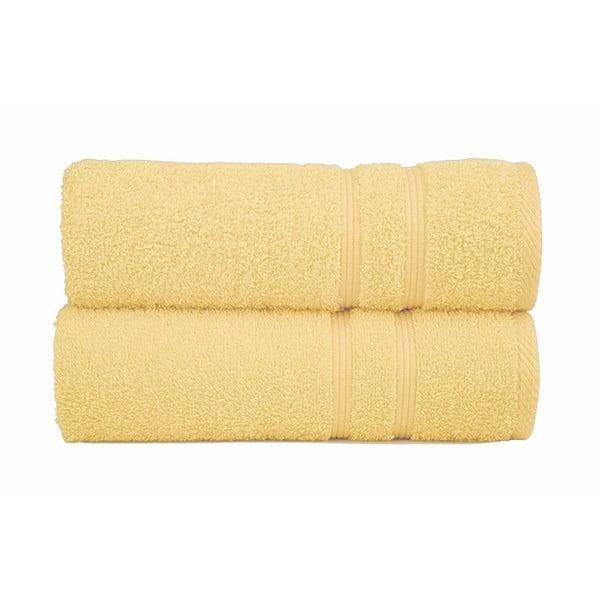 Ręcznik Sorema Basic Yellow, 30x50 cm