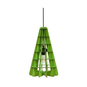 Lampa Conic, zielona