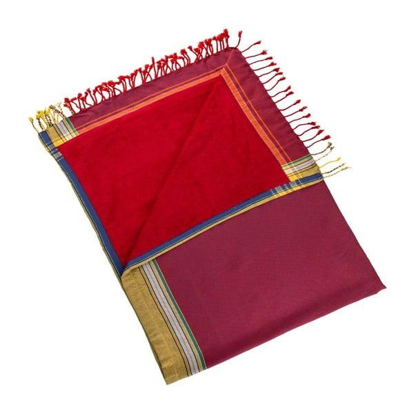 Ręcznik Uner Red, 100x178 cm