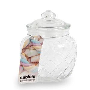 Szklany pojemnik z wieczkiem na słodycze Sabichi, 600 ml