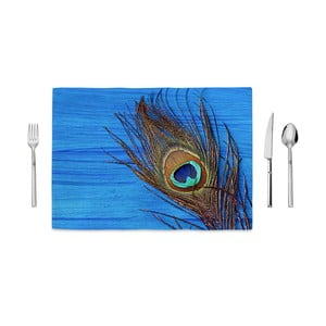 Mata kuchenna Home de Bleu Tropical Peacock, 35x49 cm