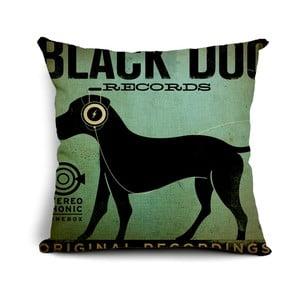 Poszewka na poduszkę Black Dog, 45x45 cm