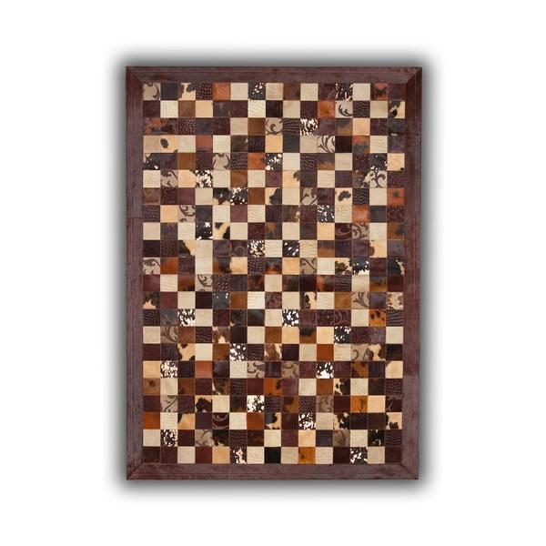 Dywan skórzany Grabados, 140x200 cm