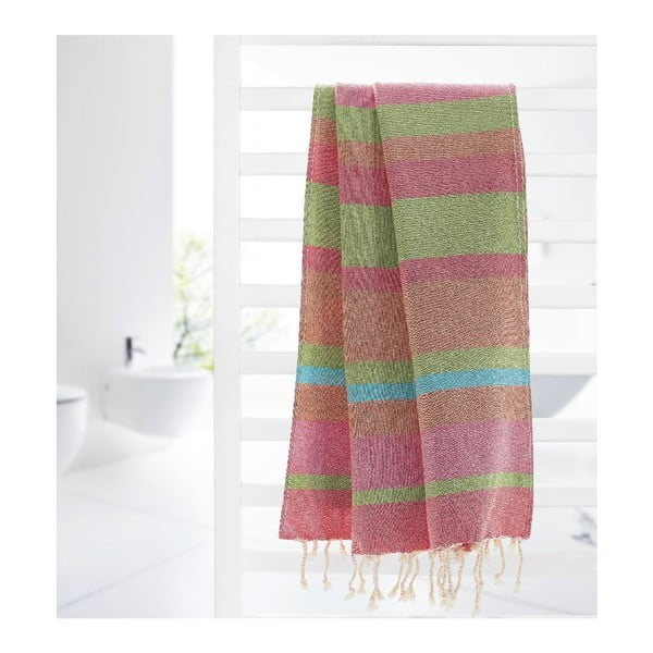 Ręcznik hammam Myra Colorful VI, 95x175 cm