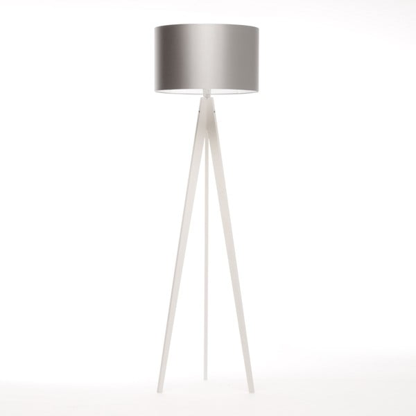 Lampa stojąca Artist Silver/White Birch, 125x42 cm