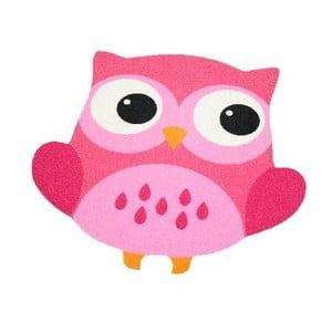 Różowy dywan dziecięcy Zala Living Owl, 66x66cm