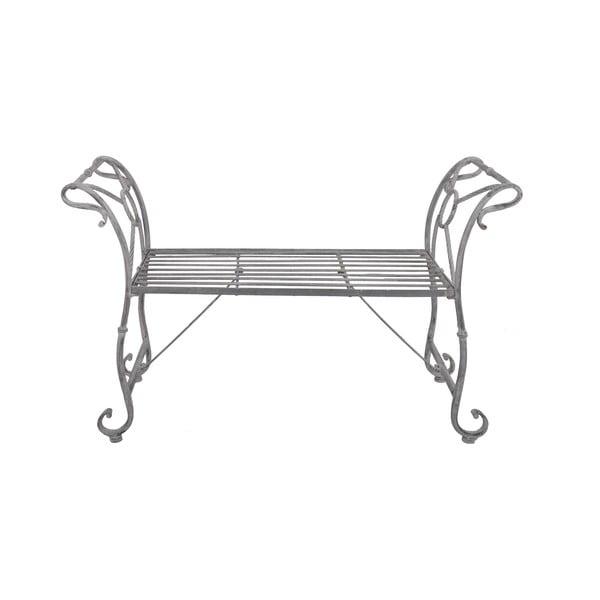 Ławeczka Metal Grey, 110 cm