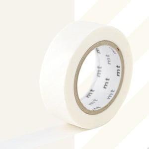 Biała taśma dekoracyjna washi MT Masking Tape Stripes