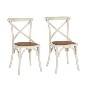 Zestaw 2 krzeseł Safavieh Jack X-Back