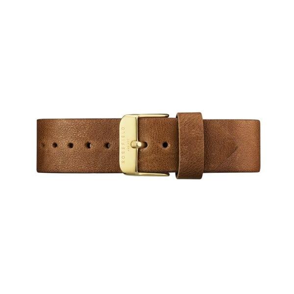 Złoto-brązowy zegarek damski Rosefield The Gramercy
