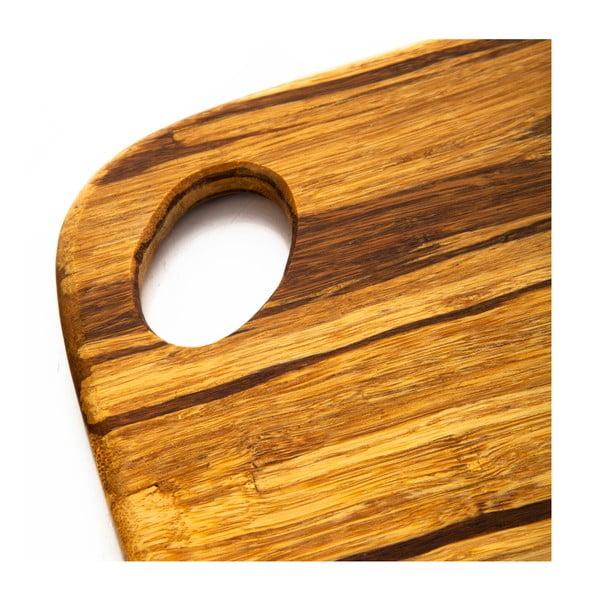 Bambusowa deska do krojenia Bambum, 30x23 cm