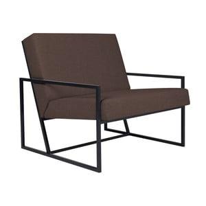 Brązowy fotel BSL Concept Geometric