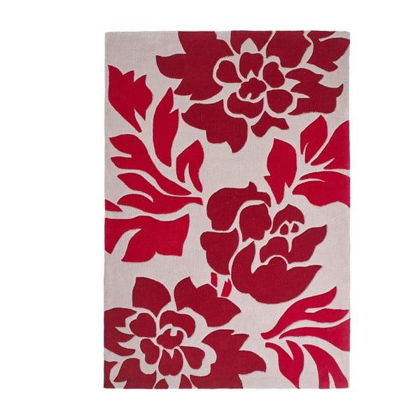 Czerwony dywan Hong Kong 120x170 cm