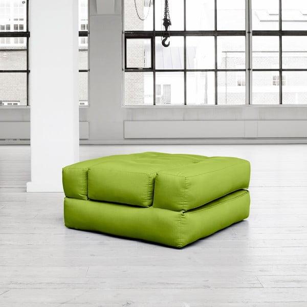 Fotel rozkładany Karup Cube Pistacie