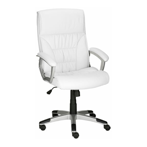 Biały fotel biurowy Støraa Tampa