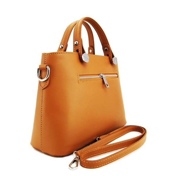 Skórzana torebka Adelaide Cognac