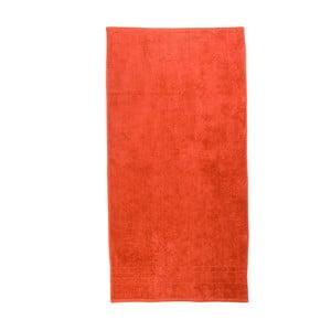 Pomarańczowy ręcznik Artex Omega, 100x150 cm