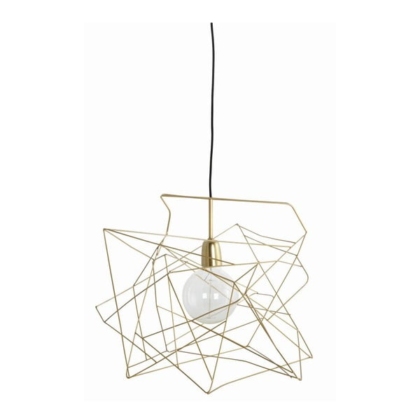 Lampa sufitowa Asymmetric Shiny Gold