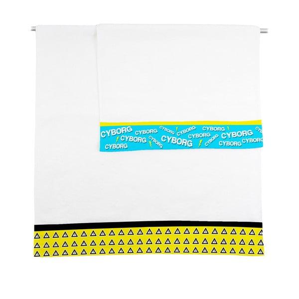 Zestaw 2 ręczników Cyborg, 50x100 i 70x140 cm