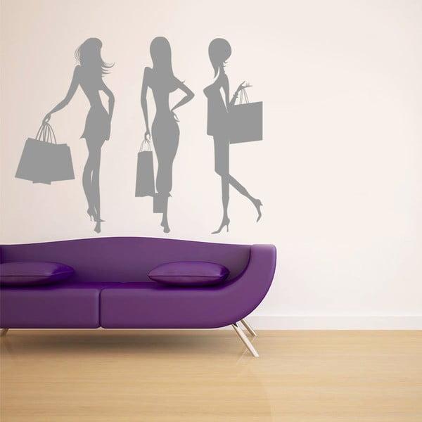 Naklejka na ścianę Fashion, 60x90 cm