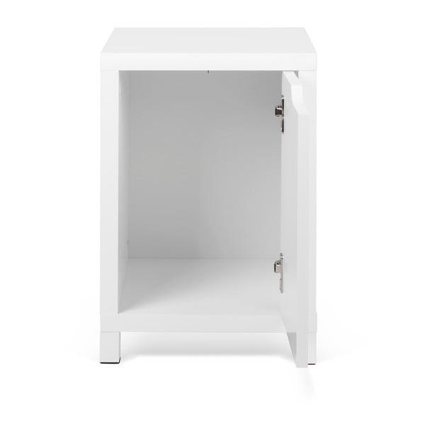 Biała szafka nocna TemaHome Basic