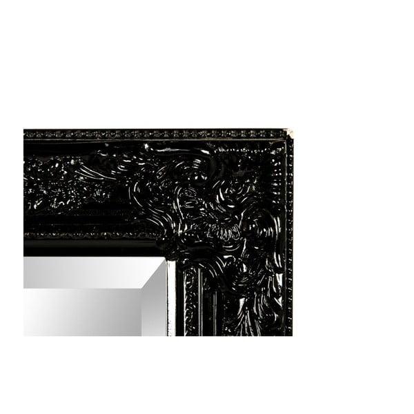Lustro ścienne Miro Nero, 42x132 cm