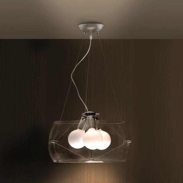 Lampa sufitowa Faro, przezroczysta